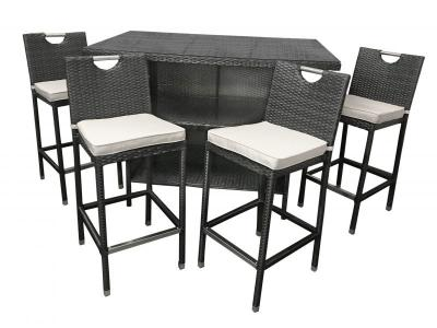 Open your Outdoor Kitchen with Bar Sets