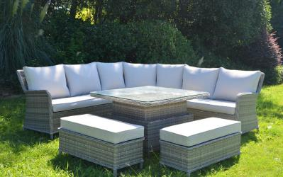 How to secure rattan garden furniture in a hurricane?