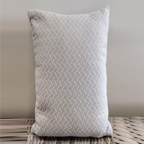 Sunbrella scatter cushion lines pattern (color: gray)