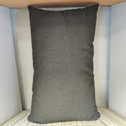 Sunbrella scatter cushions Color: Granite Gray