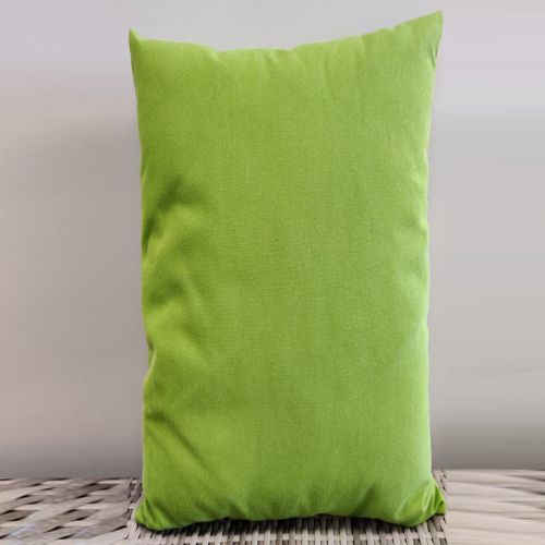 Sunbrella scatter cushions Color: Green