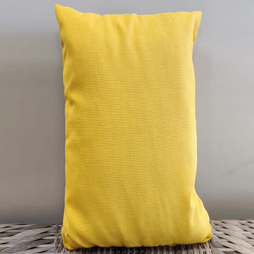 Sunbrella scatter cushions Color: Yellow