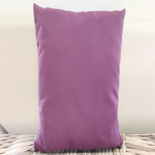 Sunbrella scatter cushions Color: Purple