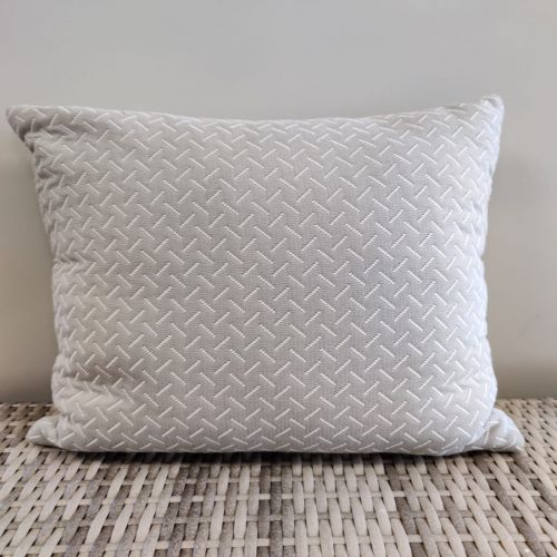 Sunbrella scatter cushions lines pattern (color gray)