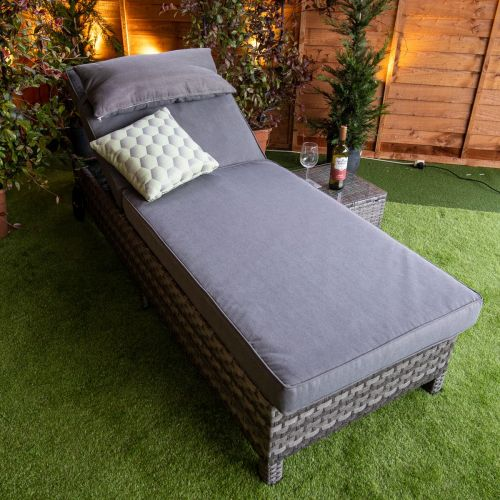 Serena Deluxe Extra Wide Wheel Lounger