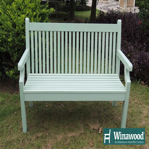 Winawood Green Three Seater Bench